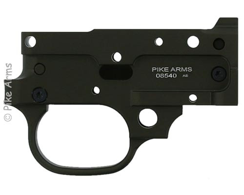Pike Arms for Ruger 1022 10//22 /& Charger Extended Mag Release Blue
